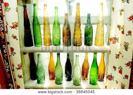 Ancient Vintage Bottles