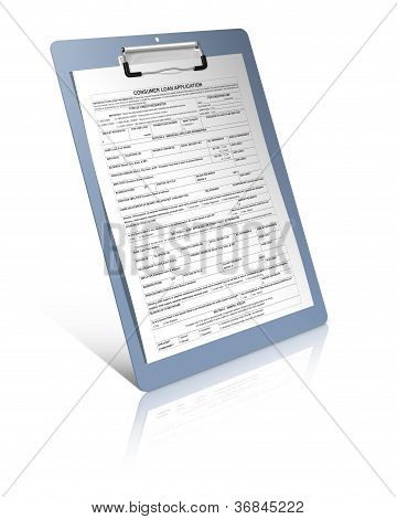 Consumer Loan Application