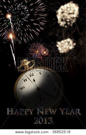 Happy New Year Poster 2013