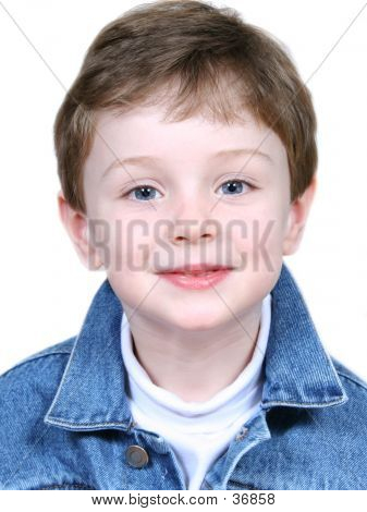 Boy In Denim Jacket