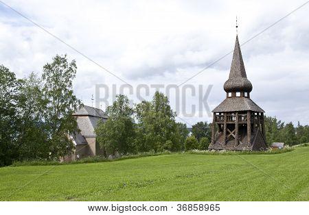 Hackas Church, Jamtland.