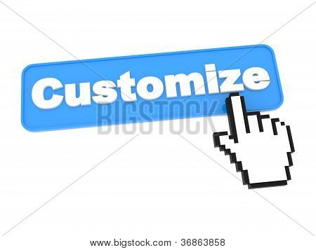 Customize - Web Button.