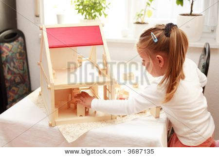 Playing With Doll\'S House