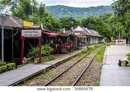 River Kwai bridge railway station