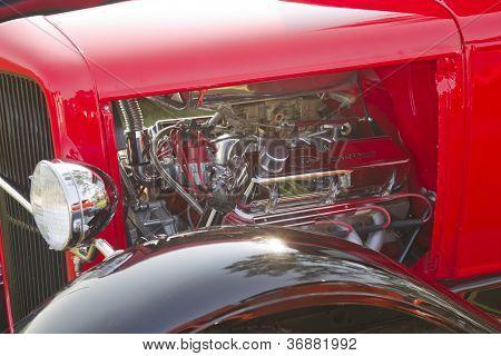 1930 Ford Street Rod Engine