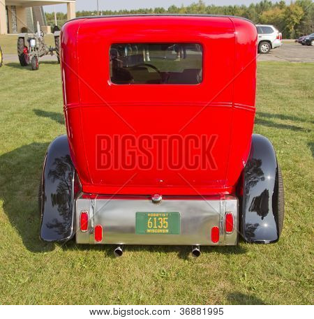 1930 Ford Street Rod Rear View