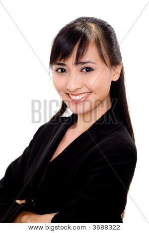 Sucessfull Asian Woman