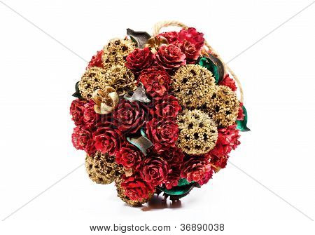 Christmas Roses Decoration