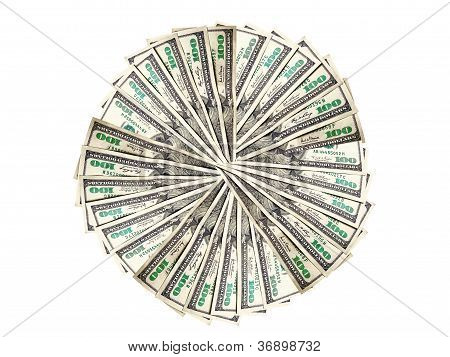 Money To Form A Circle