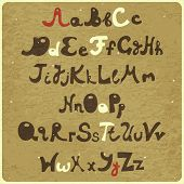Alphabet - Capital And Lower Case
