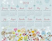 Decorative Calendar For 2013