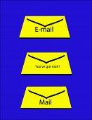 Mail Envelope poster