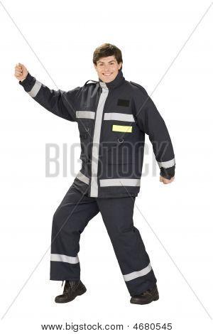 Dancing Fireman