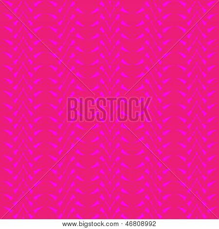 Seamless geometric pattern with pink zigzags.