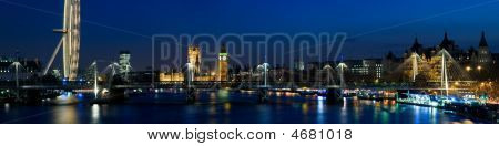City Of Westminster At Twilight ,london.