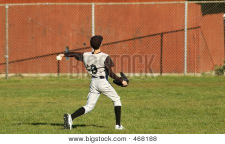 Left Handed Baseball Player