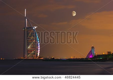Burj Al Arab Hotel On Nov 17, 2012 In Dubai
