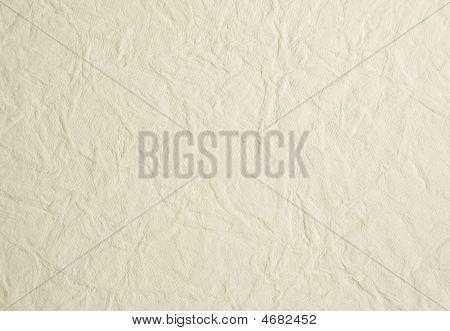 Creamy White Wrinkled Background