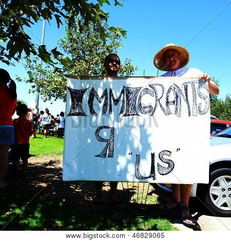 A Sign for Immigration Reform