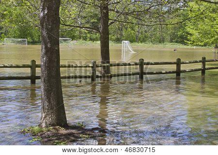 Soccer Field Flooding