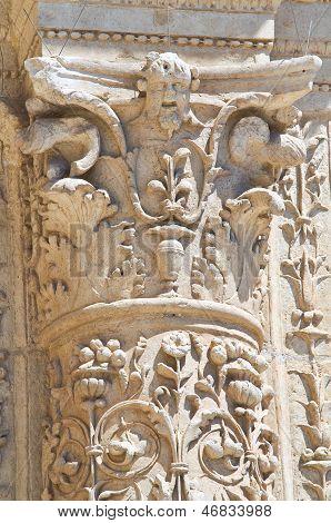 Church of St. Maria degli Angeli. Lecce. Puglia. Italy.
