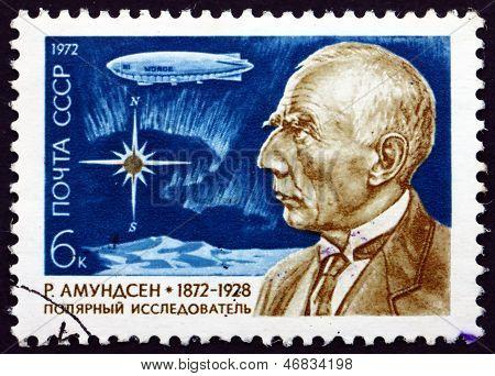 Postage Stamp Russia 1972 Roald Amundsen, Norwegian Polar Explor