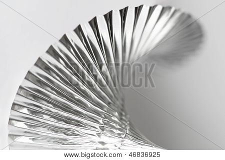 Macro of foil party decoration