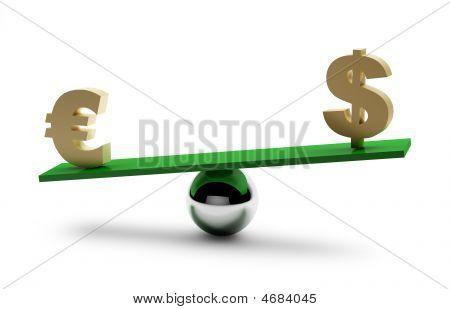 Balance Of Dollar And Euro