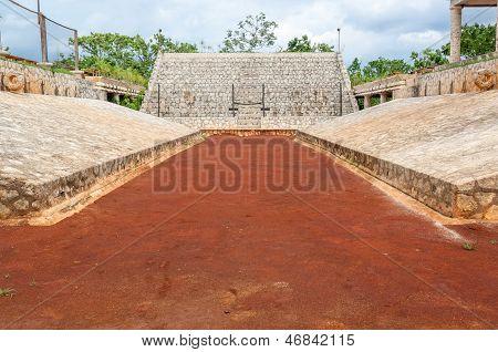 Mayan Ballgame Court