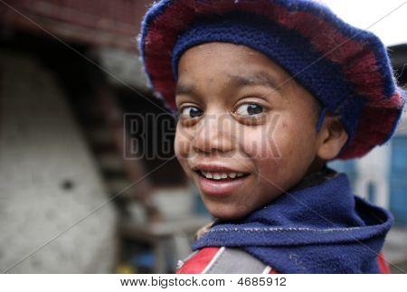 Cute Nepali Kid