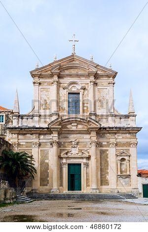 Saint Ignatius Church in Dubrovnik