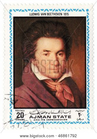 Portrait Of Beethoven In 1815