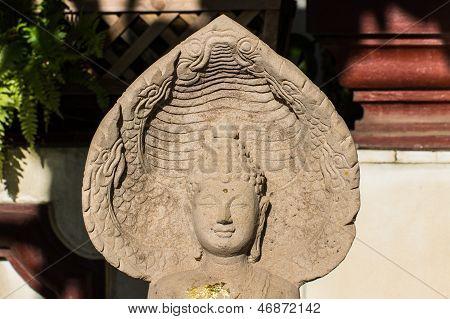 Nacprk Statue Thai Tempel