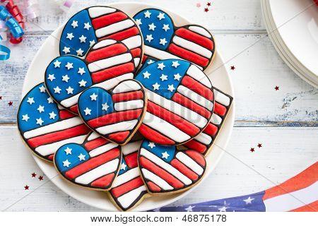 Cookies patrióticos