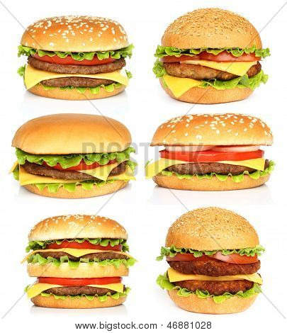 Big hamburgers