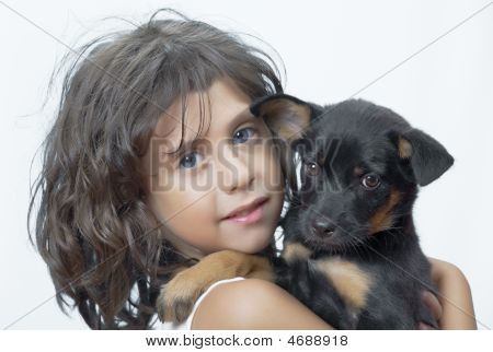 With Puppy