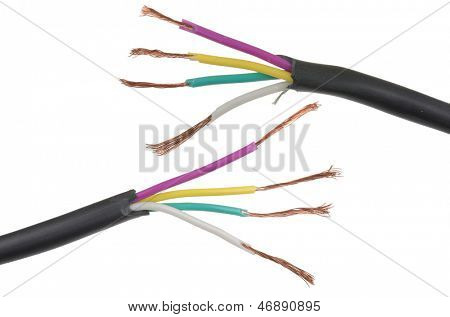 Gebrochen-Phasen-Kabel