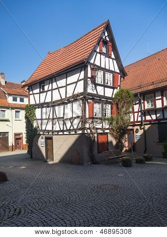 Ancient Town Of Mosbach In Southern Germany