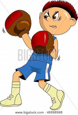 Junge Boxer