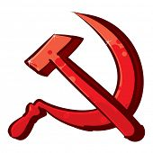 stock photo of communist symbol  - Communism symbol - JPG