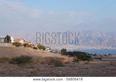 View to the Eilat gulf