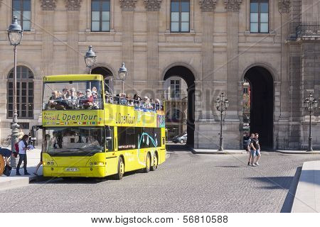 Bus With Tourist
