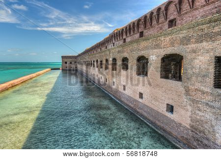 Fort Jefferson At Dry Tortugas National Park