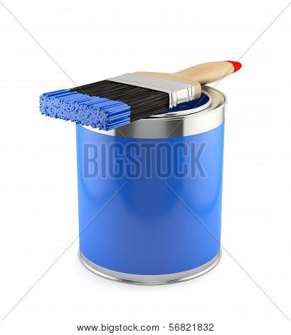 illustration of paint brush