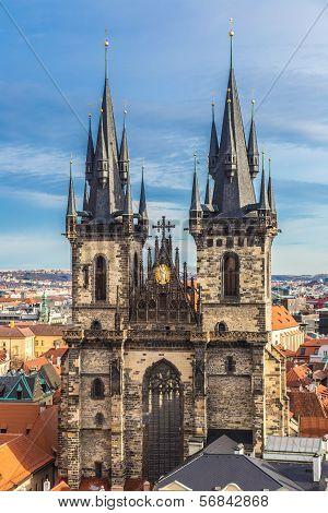 Panorama Of Prague