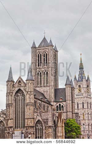 St Bavon Cathedral Ghent Belgium ascent to heaven
