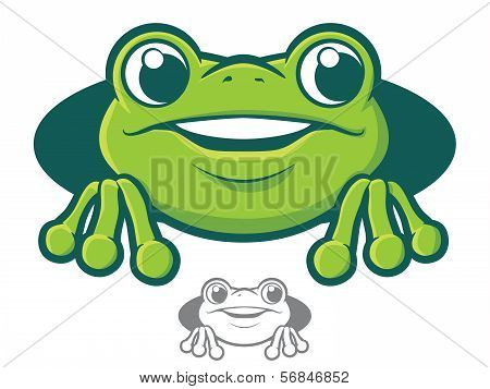 Frog Character Icon
