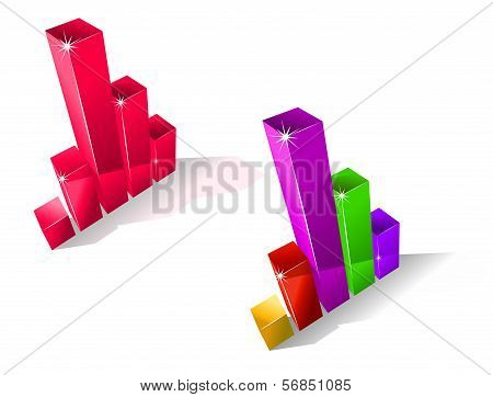 Two Fluctuating Bar Graphs