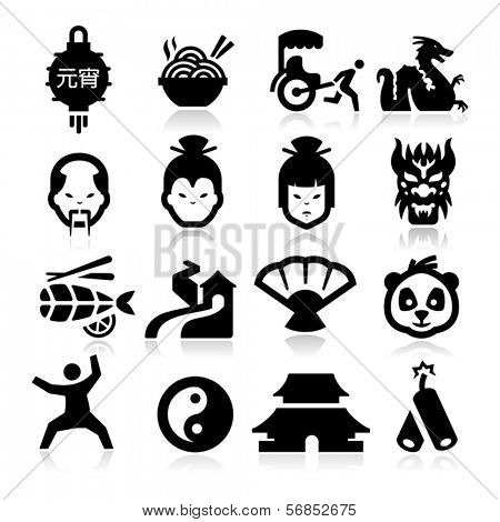 Chinese culture Icons