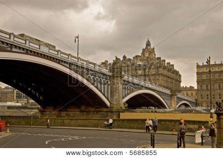 Edinburgh The Bridges